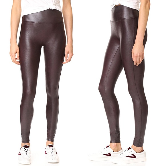 99aaead868b24a SPANX Pants | Faux Leather Leggings | Poshmark